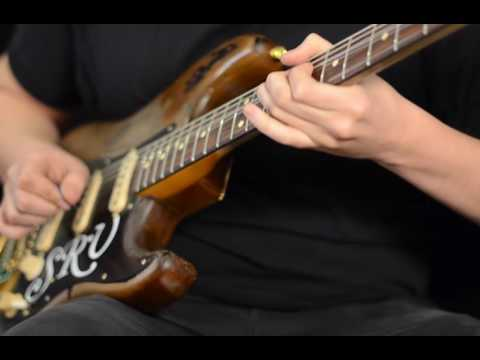 Frugoni - Stevie Ray Vaughan Number One - Tribute Stratocaster