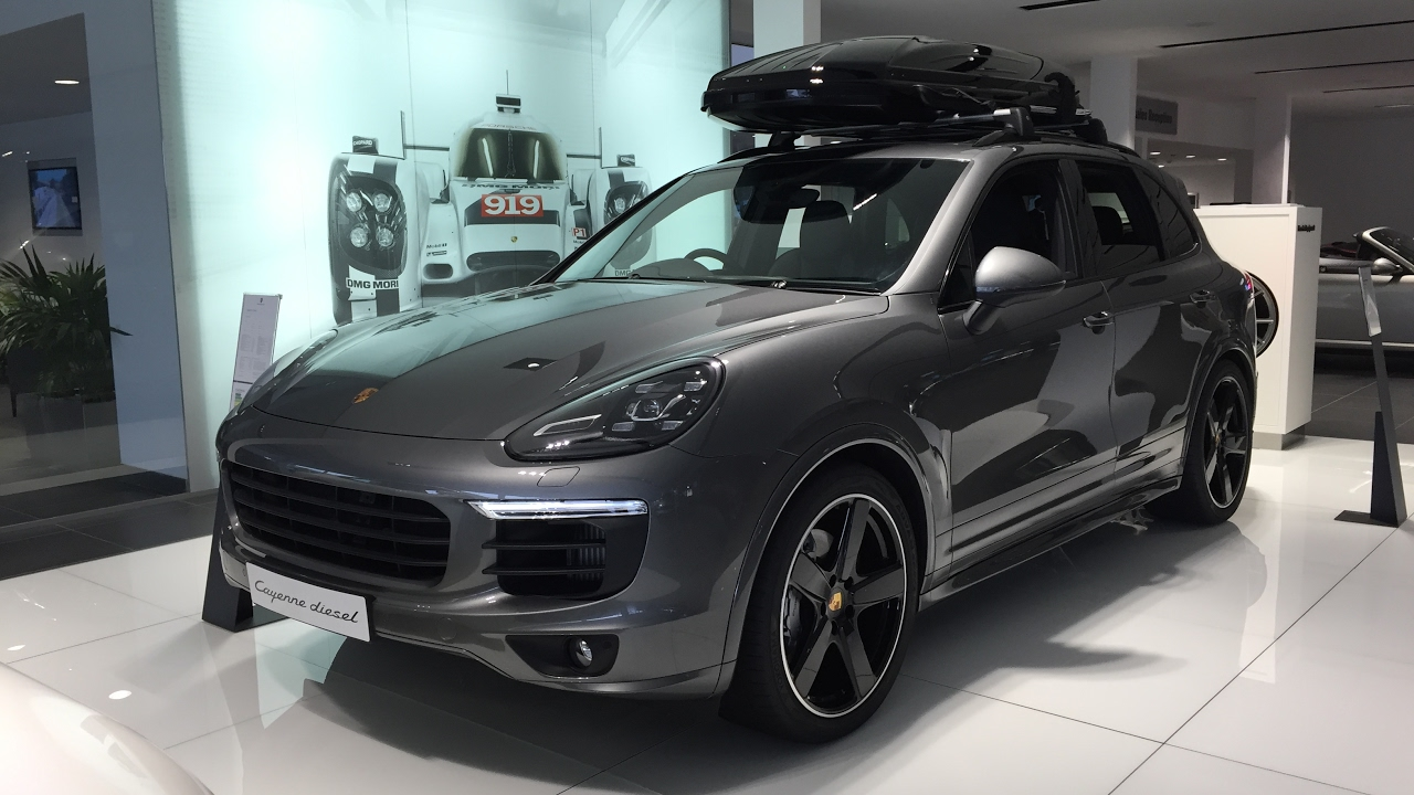 2017 Porsche Cayenne S Exterior And Interior Walkaround
