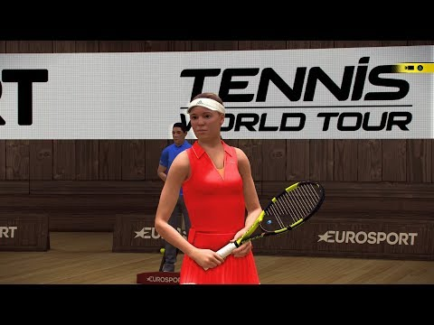 Tennis World Tour - Caroline Wozniacki vs Angelique Kerber - PS4 Gameplay