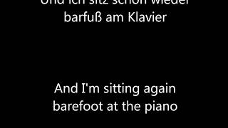 Barfuß am Klavier - AnnenMayKantereit English translation
