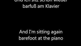 Barfuß am Klavier - AnnenMayKantereit English translation