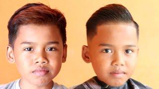 How to Detail fade kids hair cut hair style  tutorial.