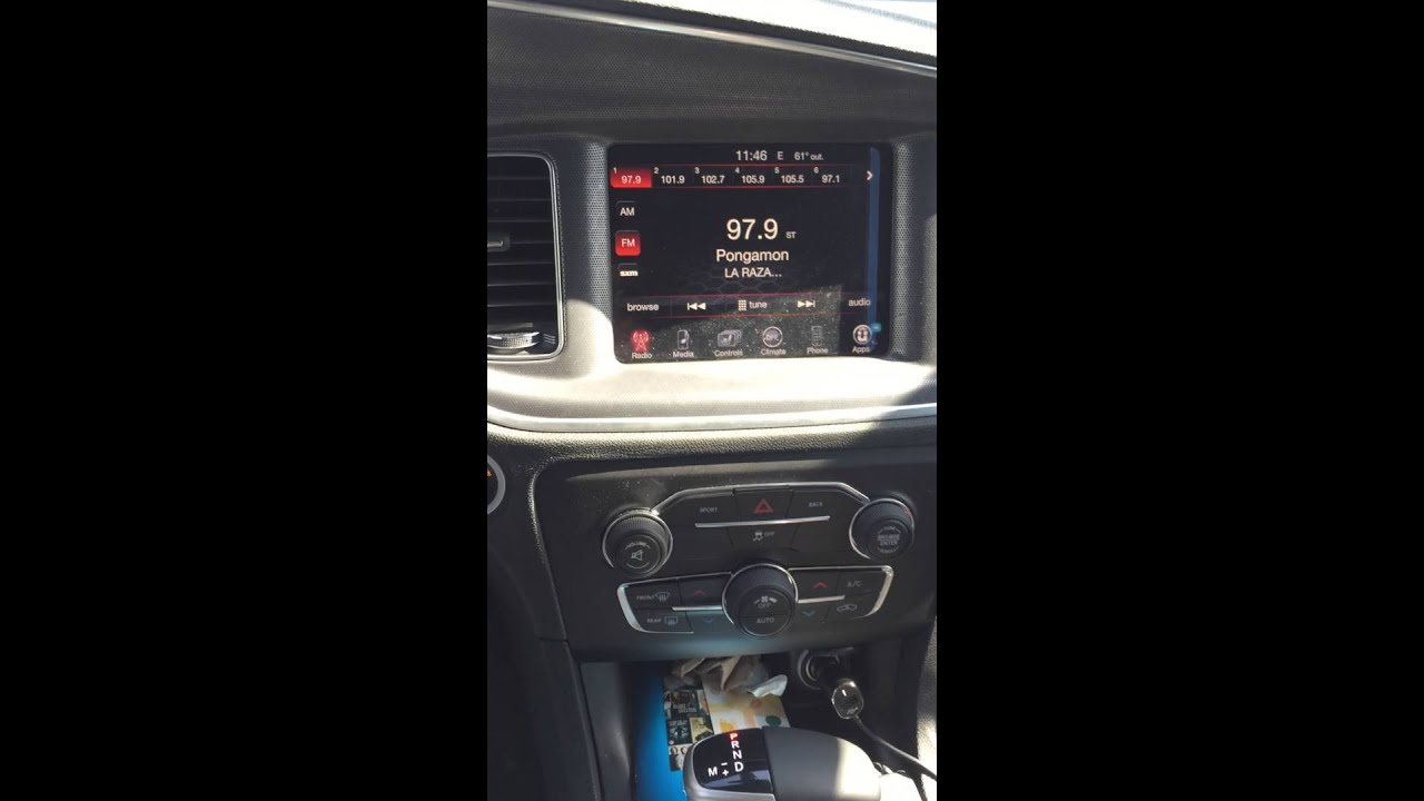 maxresdefault 2015 dodge charger uconnect backup reverse camera interface youtube  at fashall.co