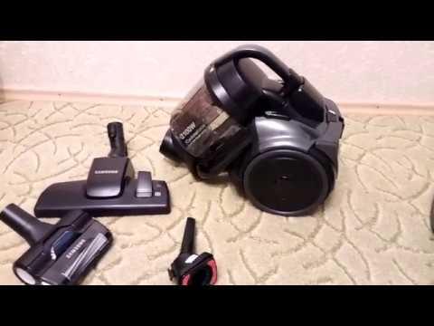 Тестирование пылесоса Samsung VC5100 с турбиной Anti-Tangle