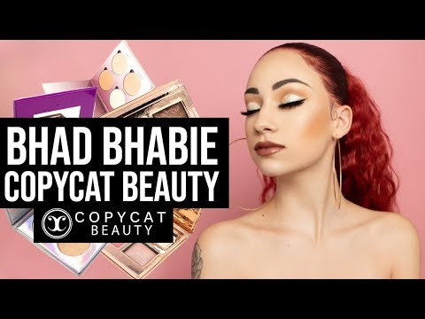 BHAD BHABIE Copycat Beauty makeup collection launch | Danielle Bregoli