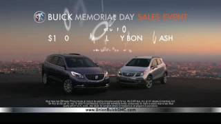 Union Buick GMC Memorial Day Specials