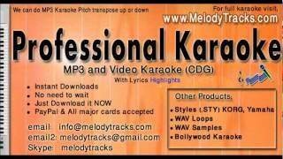 Aati hai to chal - Alka Babul KarAoke - www.MelodyTracks.com