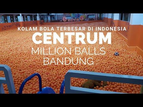 Centrum Million Balls Bandung..kolam Bola Terbesar Di Indonesia!60k Sepuasnya. #wisatabandung