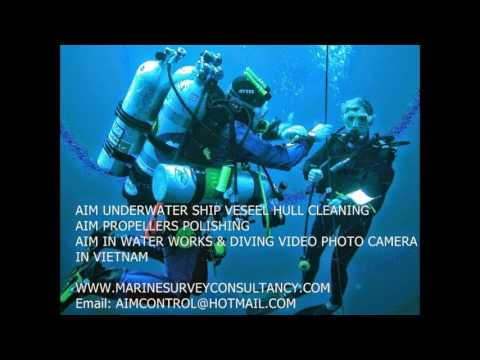 Diving Underwater Hull Cleaning Surveying Company in Vietnam