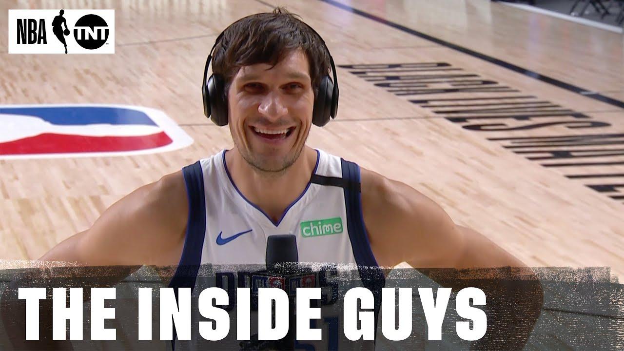 Mavericks Boban Marjanovic Interviewed On Inside The Nba Video Sports Illustrated