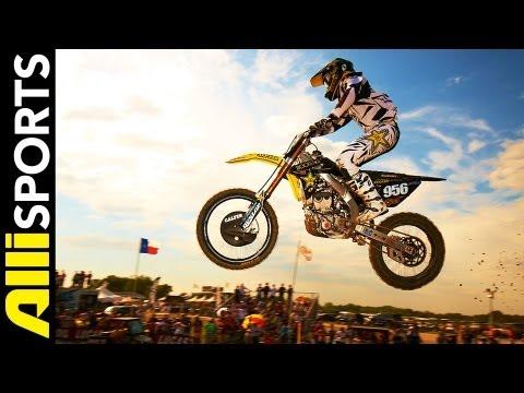 Blake Wharton's Rockstar Energy/Suzuki Motocross Setup 2012, Alli Sports