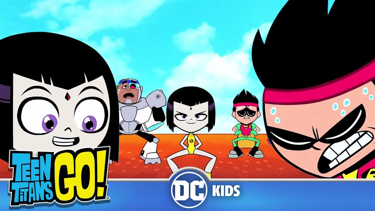Teen Titans Go! | Working Out With The Teen Titans | DC Kids