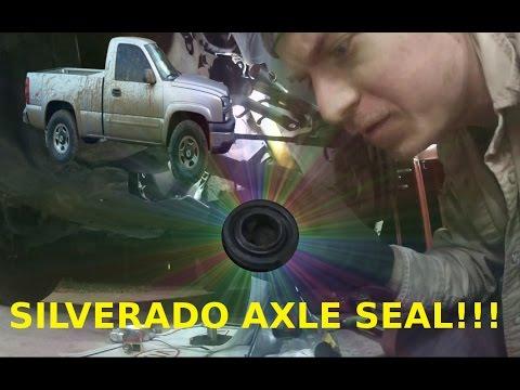 silverado front differential seal