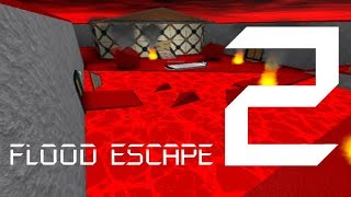 Roblox Flood Escape 2 (Testkarte) - Zerstörte Ruinen (Wahnsinn) (Multiplayer)
