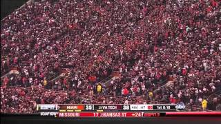 Virginia Tech Hokies vs. Miami Hurricanes : Final 6 Minutes (10-8-2011)