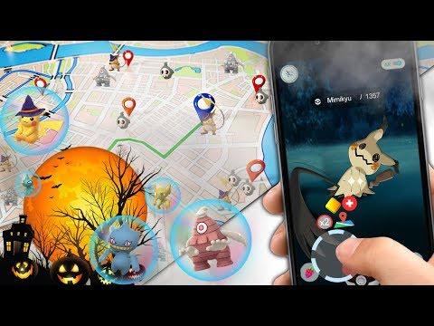 Pokemon GO ¡NUEVO NEWGps Joystick! VER Y CAPTURAR TODOS LOS POKEMON GEN 3 ESPECIAL HALLOWEEN 2017