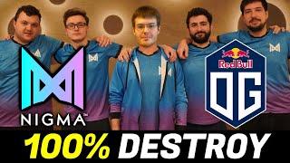 NIGMA vs OG — 100% DESTROYED