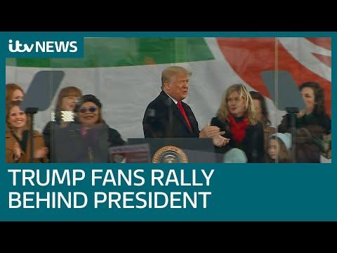 Trump faithful back