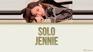 Kim Jennie (김제니) - Solo (Color Coded Lyrics) [HAN/ROM/ENG]