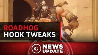 Overwatch's Roadhog Hook Continues to Be Tweaked - GS News Update: