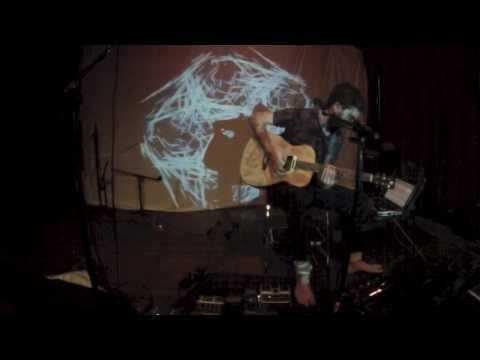 Solo Guitar Looping Wizardry by Michael Garfield ft. Live Visuals by Topher Sipes
