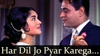 Download Mp3 Sangam - Har Dil Jo Pyar Karega O - Mukesh - Lata Mangeshkar