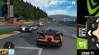 Forza MotorSport 7 At 4K Max Settings Mclaren Senna | RTX 2080 Ti | i9 9900K 5.GHz
