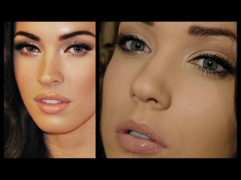 megan fox makeup tutorial red carpet glamour youtube