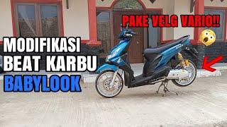 REVIEW BEAT KARBU BABYLOOK   modifikasi beat karbu babylook simple