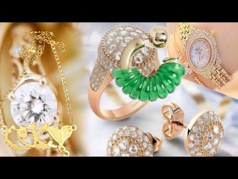 7d42898845c19 الاكسسوارات الذهب و المجوهرات و تصاميم رائعة لهواة التميز - YouTube