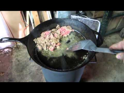 Waste oil heater and cook stove