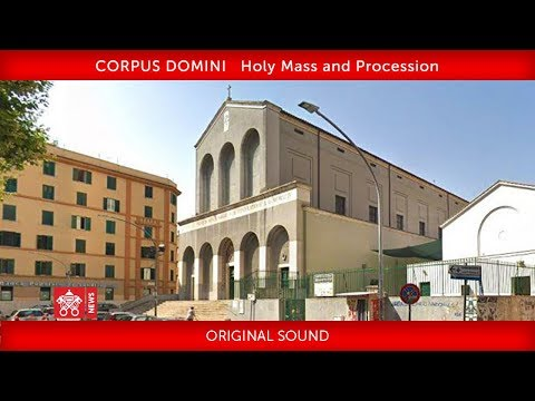Pope Francis - Holy Mass and Procession 2019-06-23