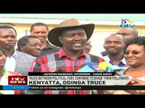 Truce between President Uhuru Kenyatta and Raila Odinga continues to divide followers