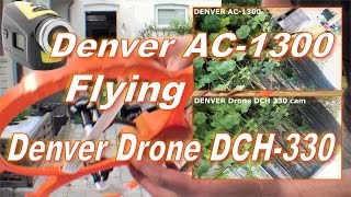 Denver AC-1300 flying with Denver Drone DCH-330 - 209
