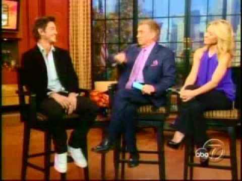 Craig Horner Interviewed on Regis & Kelly