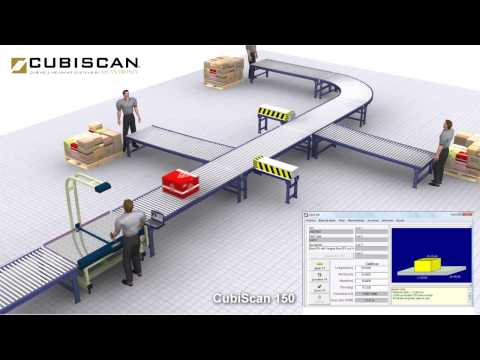 CubiScan 150  animation video with QBIT-DB system application