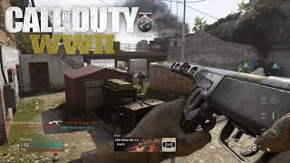 NEW CALL OF DUTY: WW2 NADESHOT SMG GAMEPLAY (NEW MAP!)