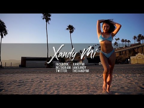 Xandy Mi Model Promo in Santa Monica, California