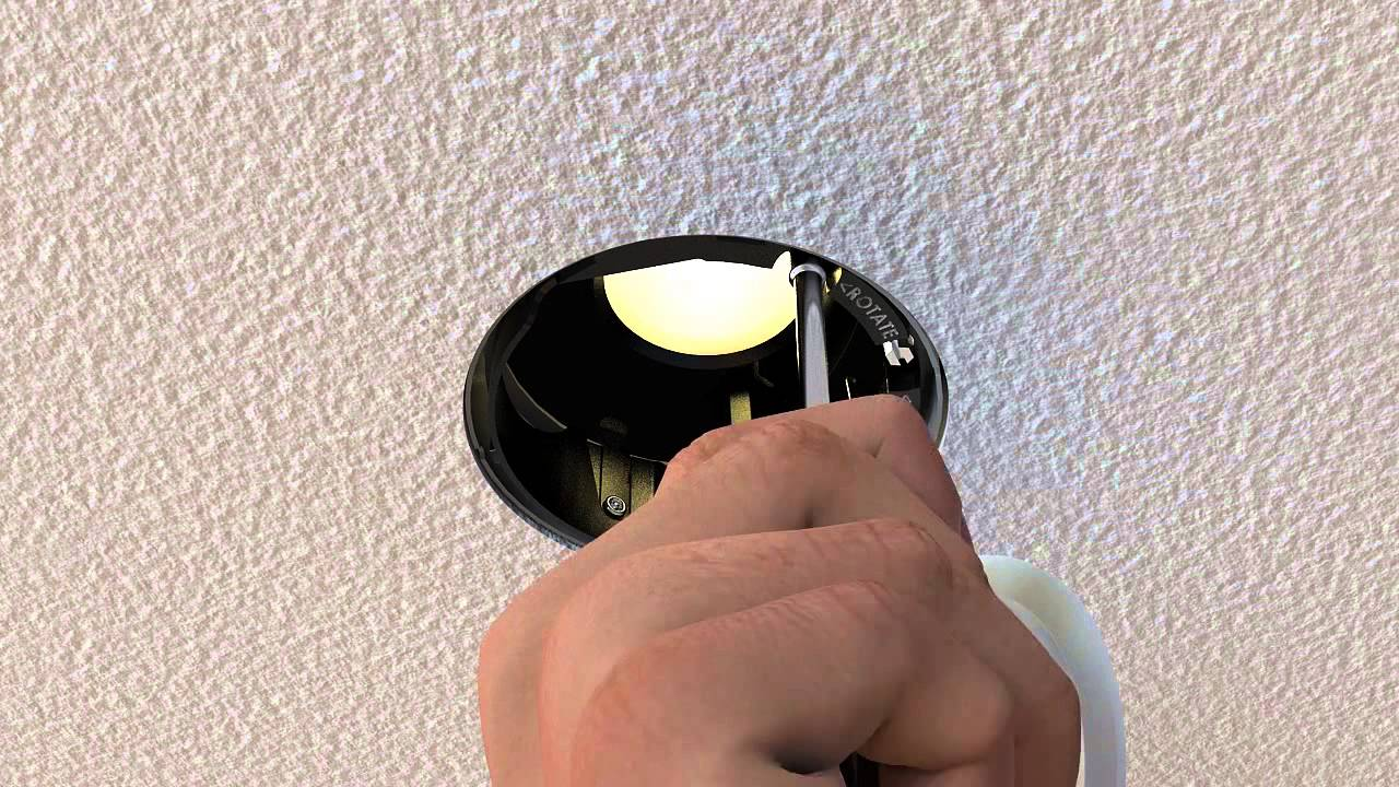 Led Adjustable Wall Wash Recessed Light Youtube