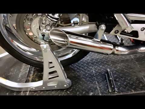 Maxflow StreetPro 4 2 YAMAHA V-Max Vmax Exhaust System w/ Slash Cut Mufflers (85-07 All)