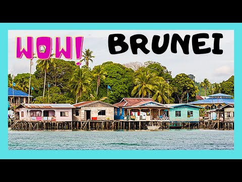 SULTANATE of BRUNEI: The fascinating WATER VILLAGE (Kampong Ayer)