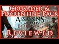 AC IV BLACK FLAG | CRUSADER & FLORENTINE DLC PACK REVIEWED | ALTAIR & EZIO'S SWORDS & SHIP GEAR | HD