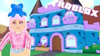 Mermaid Castle! Roblox My Droplets (Part 3) Castle