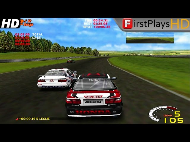 TOCA 2 (1998) - PC Gameplay Windows 7 / Win 7 HD