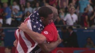 Burroughs Wins Men's Wrestling Freestyle 74kg Gold - London 2012 Olympics