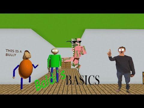 Monster School: BALDI'S BASICS CHALLENGE - Minecraft Animation