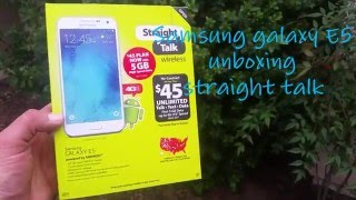 Samsung Galaxy E5 Unboxing and Hands-On