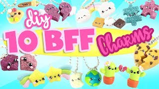 10 CUTE BFF DIY's - Polymer Clay Compilation 2