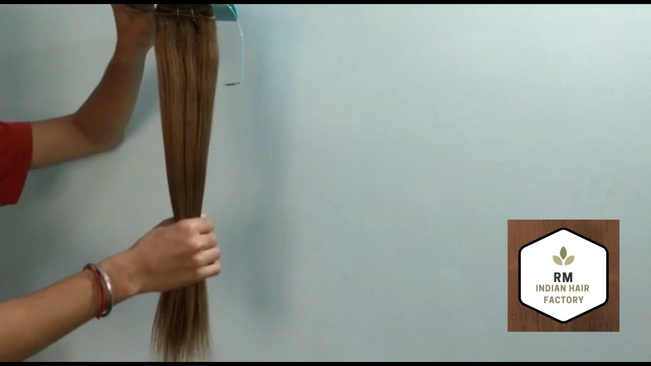 Remy Natural Indian Brown Hair Virgin Brown Hair Extensions Youtube