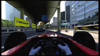 Gran Turismo 6 GT6 City Track - Tokyo R246 onboard Formula GT - helmet cam